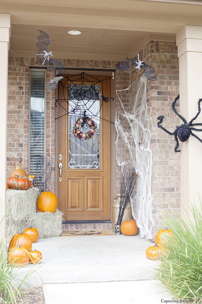 Halloween Front Porch Ideas  Cute Halloween Front Porch Decorations to Greet Your Guests