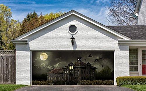 Halloween Garage Door Decoration  Great Stuff • Garage Door Halloween Decorations