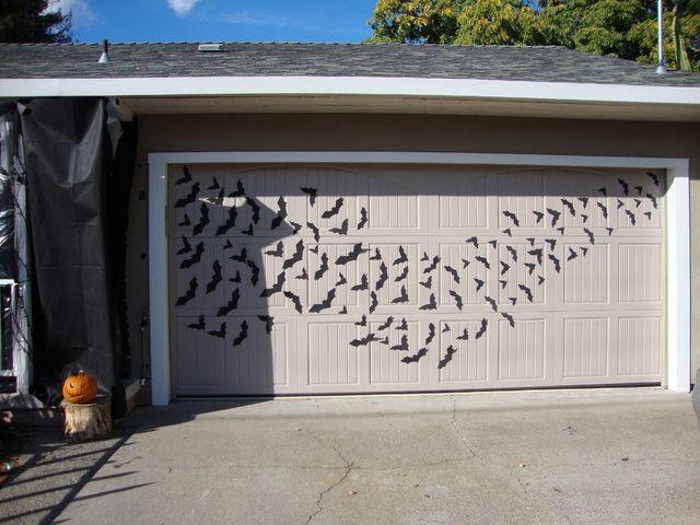 Halloween Garage Door Decoration  1000 ideas about Halloween Garage Door on Pinterest