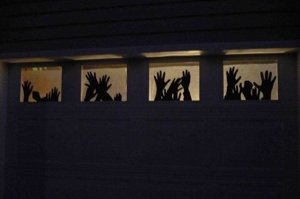 Halloween Garage Door Decoration  Creepy Halloween Decor REASONS TO SKIP THE HOUSEWORK