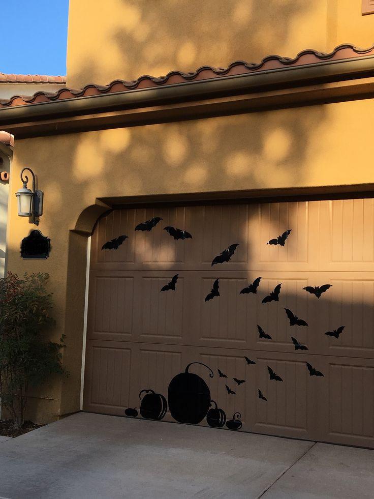 Halloween Garage Door Decoration  Best 25 Halloween garage ideas on Pinterest
