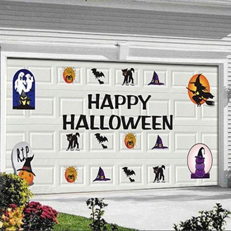 Halloween Garage Door Decoration  25 best ideas about Halloween Garage Door on Pinterest