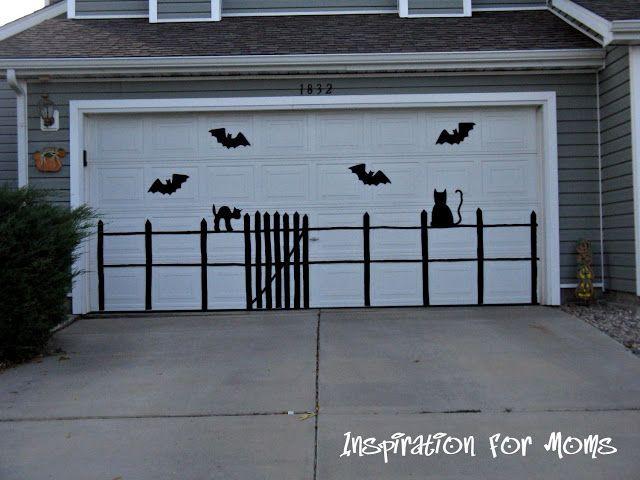 Halloween Garage Door Decoration  Best 25 Halloween garage door ideas on Pinterest