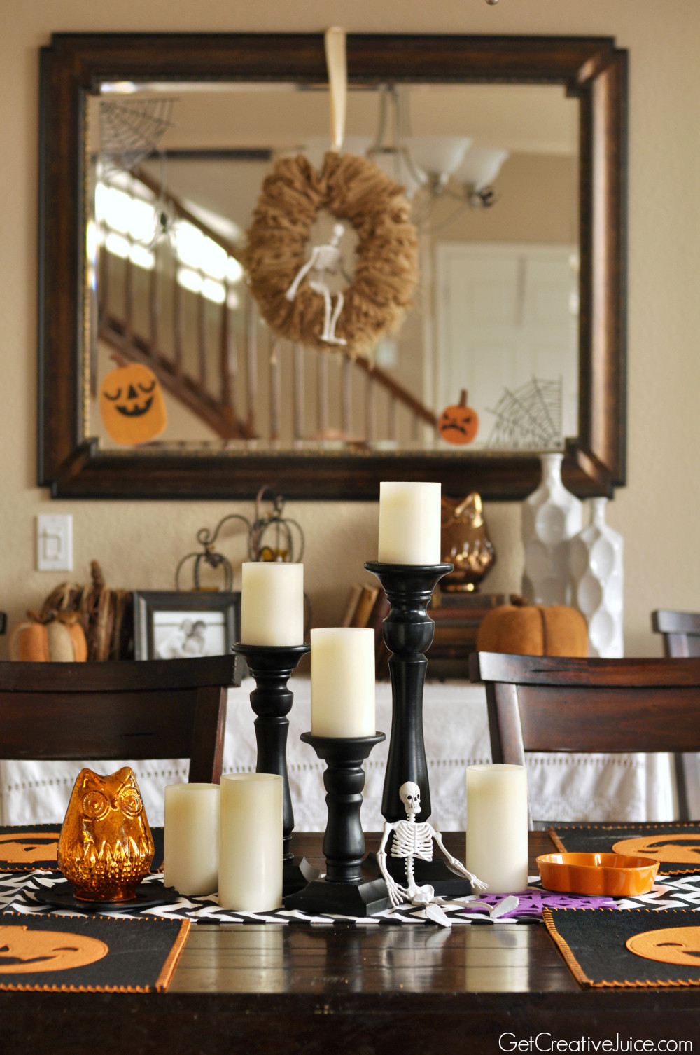 Halloween Home Decor Ideas  Halloween Decorations Home Tour Quick and Easy Ideas