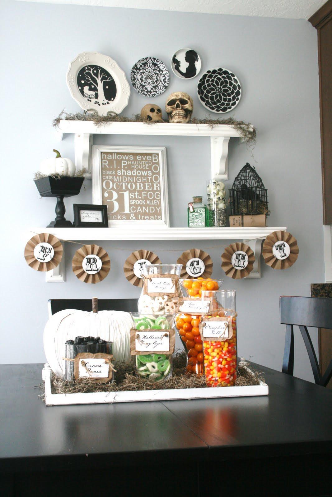 Halloween Home Decor Ideas  Halloween Decorating Ideas