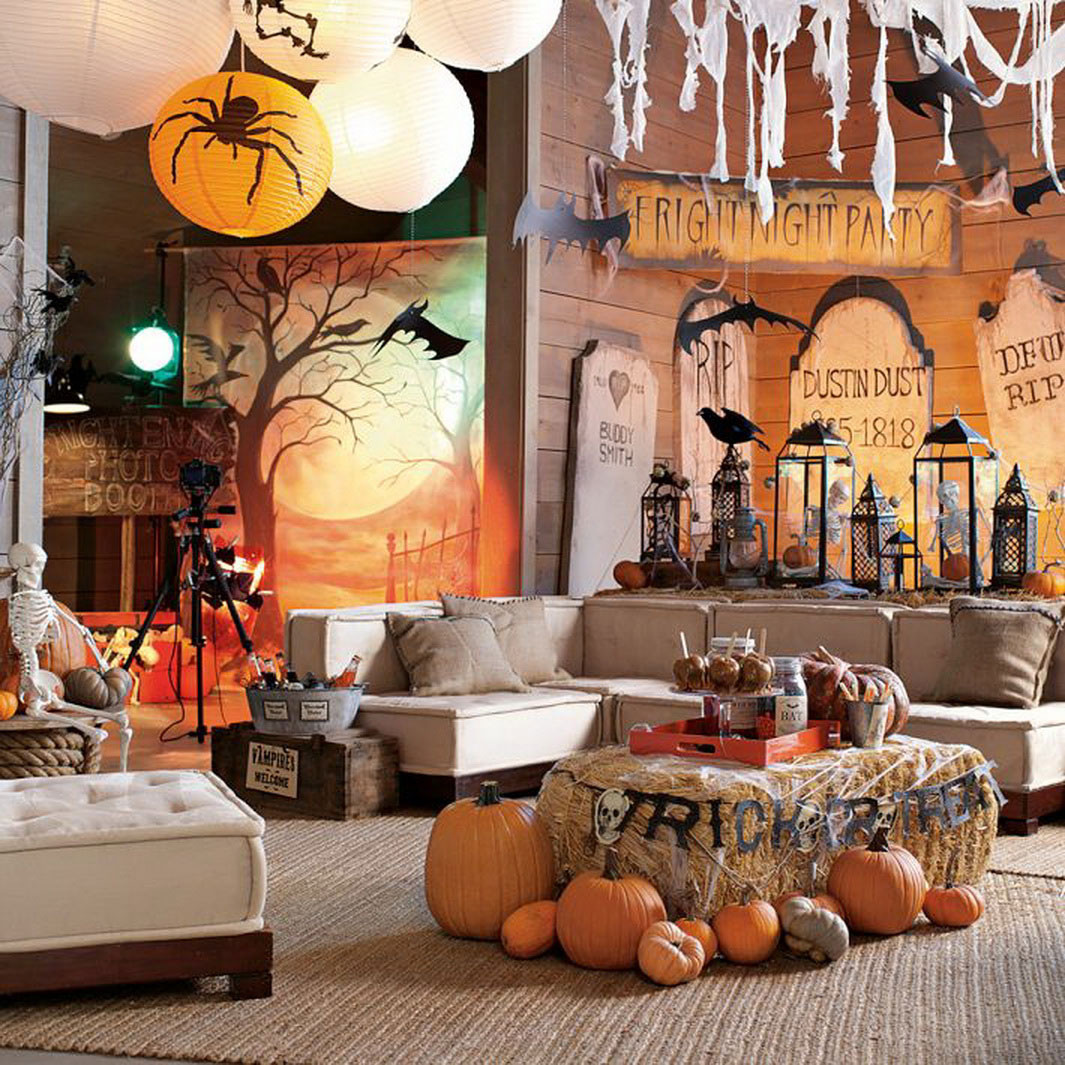 Halloween Living Room Decor  Happy Halloween Tips Home Decoration 1