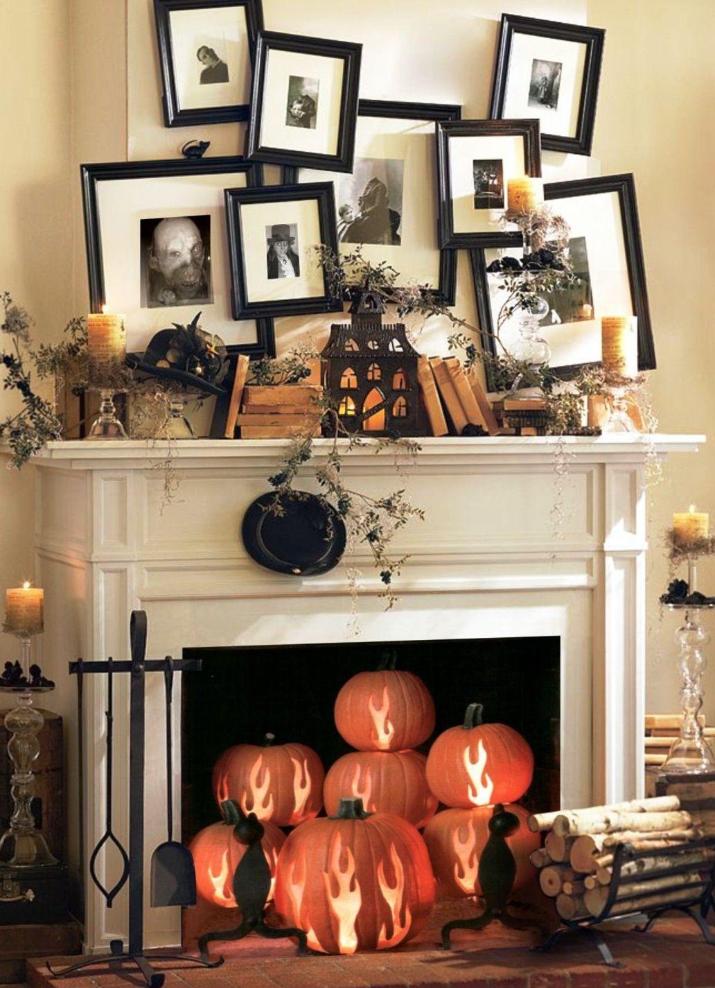 Halloween Living Room Decor  21 Stylish Living Room Halloween Decorations Ideas