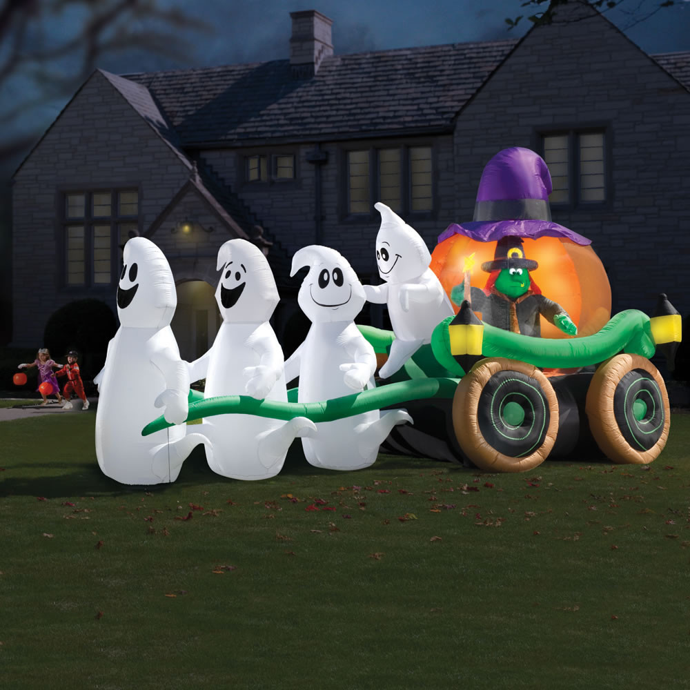 Halloween Outdoor Decorations Clearance  Spooktacular Fun with Halloween Inflatable Decorations