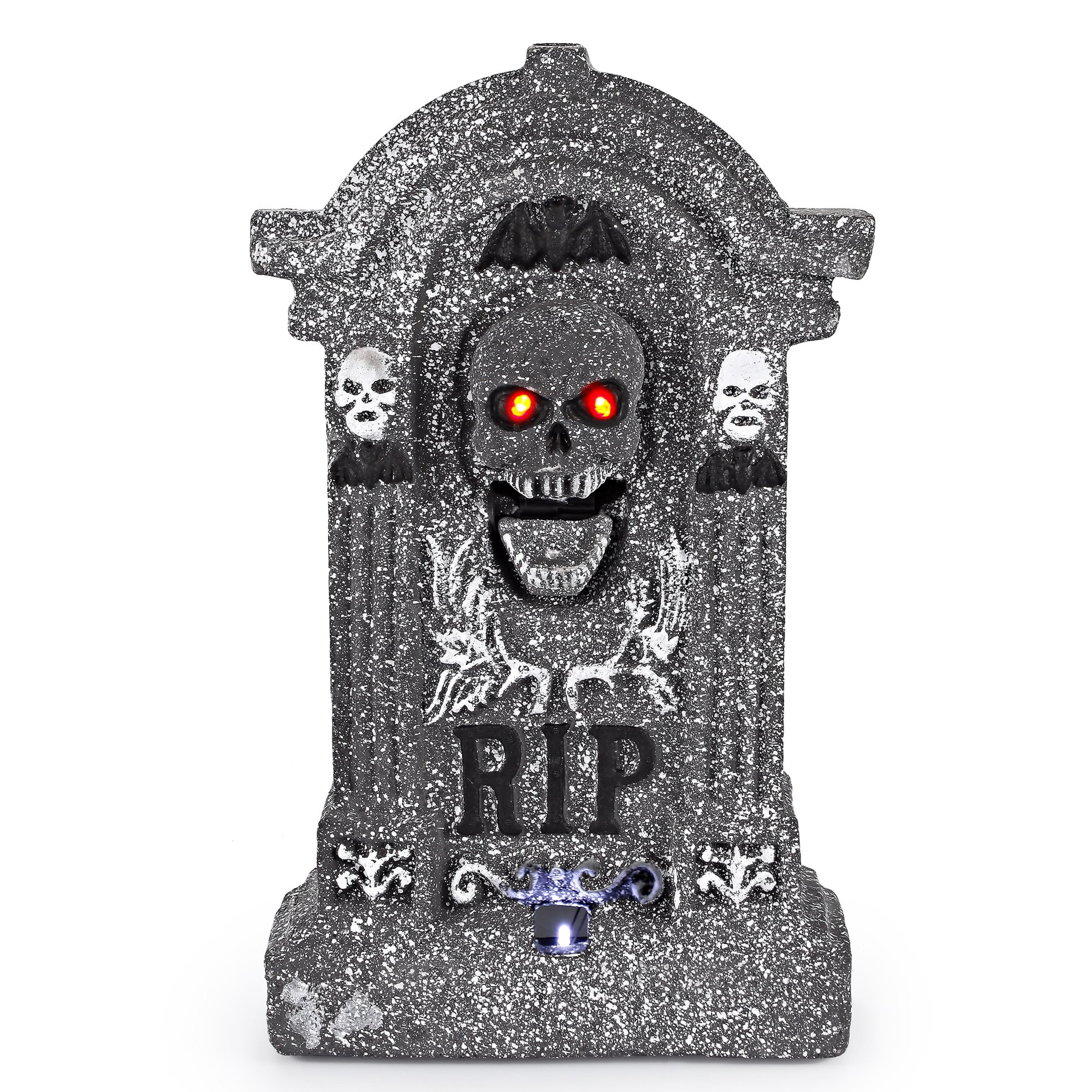 Halloween Outdoor Decorations Clearance  SCARY Animated Graveyard Tombstone Prop Halloween Outdoor