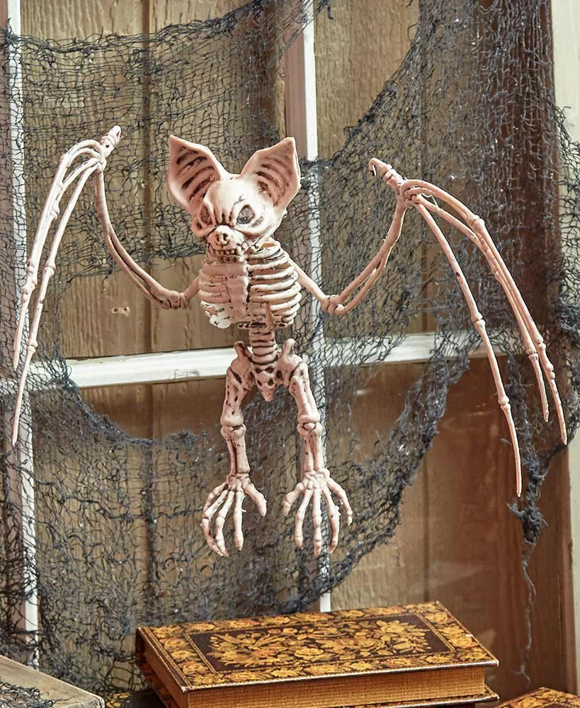 Halloween Outdoor Decorations Clearance  CLEARANCE LIFE SIZE Animal Bat for Halloween Skeleton Prop