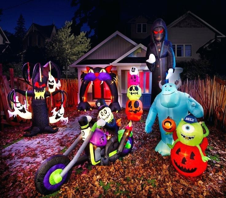 Halloween Outdoor Decorations Clearance  Inflatable Halloween Decorations Uk Clearance Inflatables
