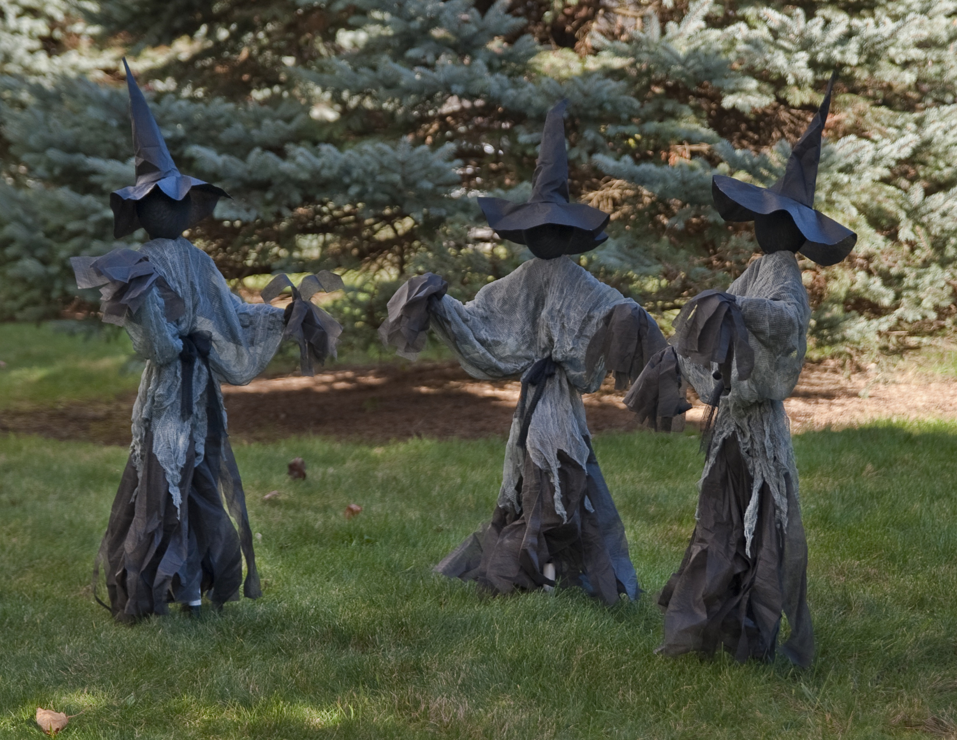 Halloween Outdoor Decorations Clearance  Lawn Witches Halloween Decoration