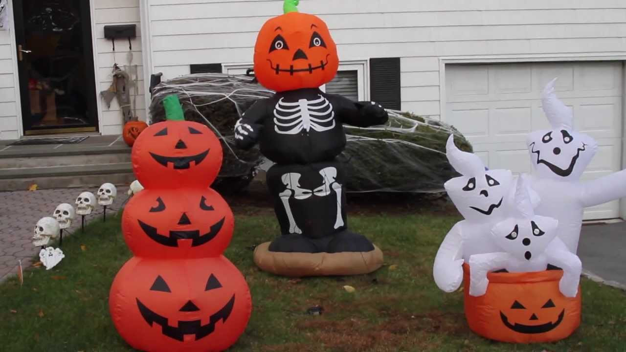 Halloween Outdoor Decorations Clearance  My Airblown Inflatable and Halloween Decorations Display