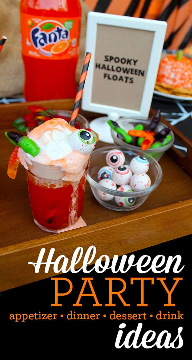 Halloween Party Appetizer Ideas  Halloween Party Ideas Appetizers Dinner and Desserts