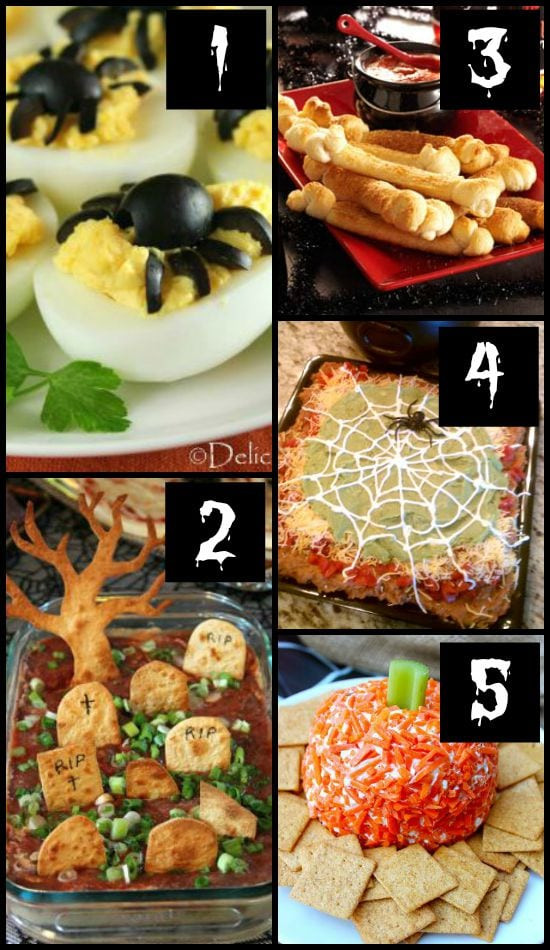 Halloween Party Appetizer Ideas  50 MORE Halloween Food Ideas The Dating Divas