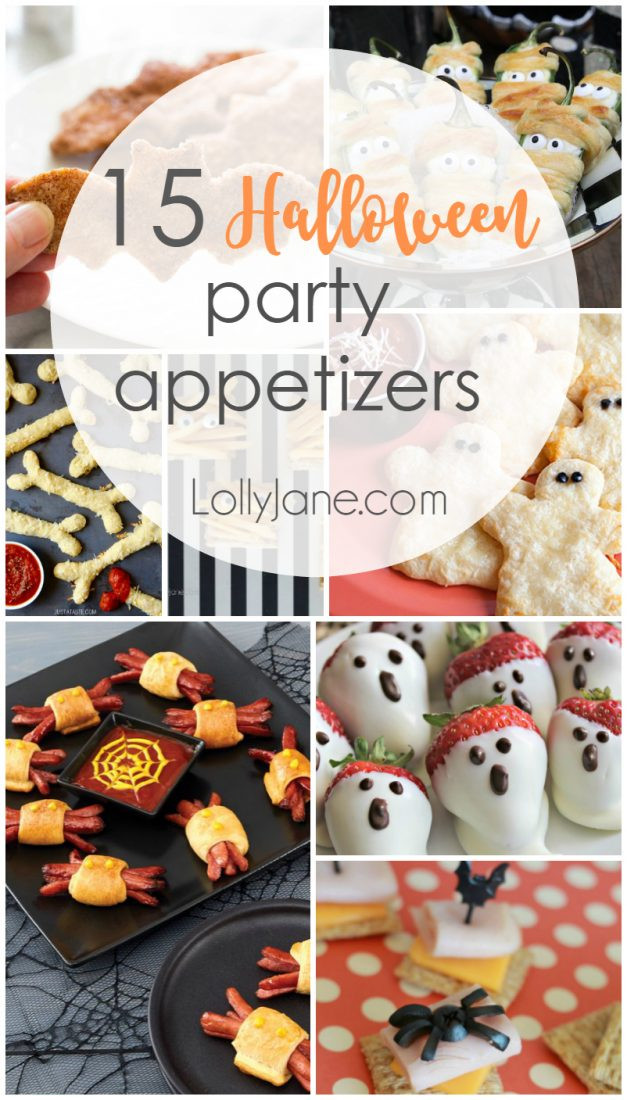 Halloween Party Appetizer Ideas  15 Halloween Party Appetizers Lolly Jane