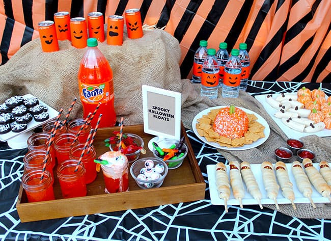 Halloween Party Menu Ideas  Halloween Party Ideas Appetizers Dinner and Desserts