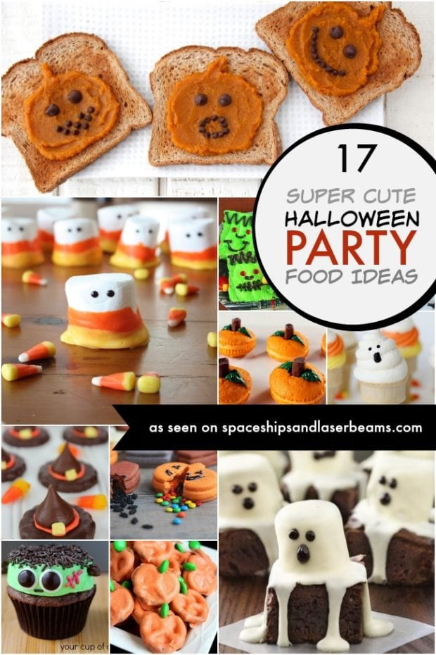 Halloween Party Menu Ideas  Mickey Mouse Witches Hat Spaceships and Laser Beams