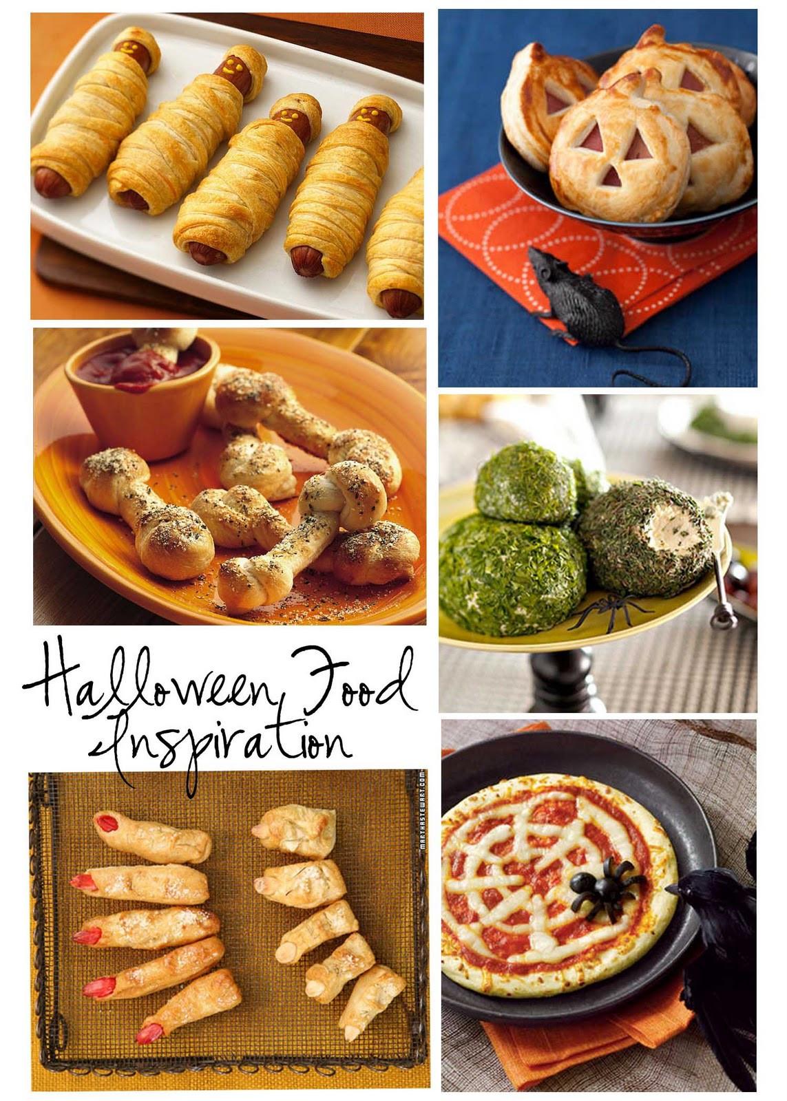Halloween Party Menu Ideas  Room to Inspire Spooky Food Ideas