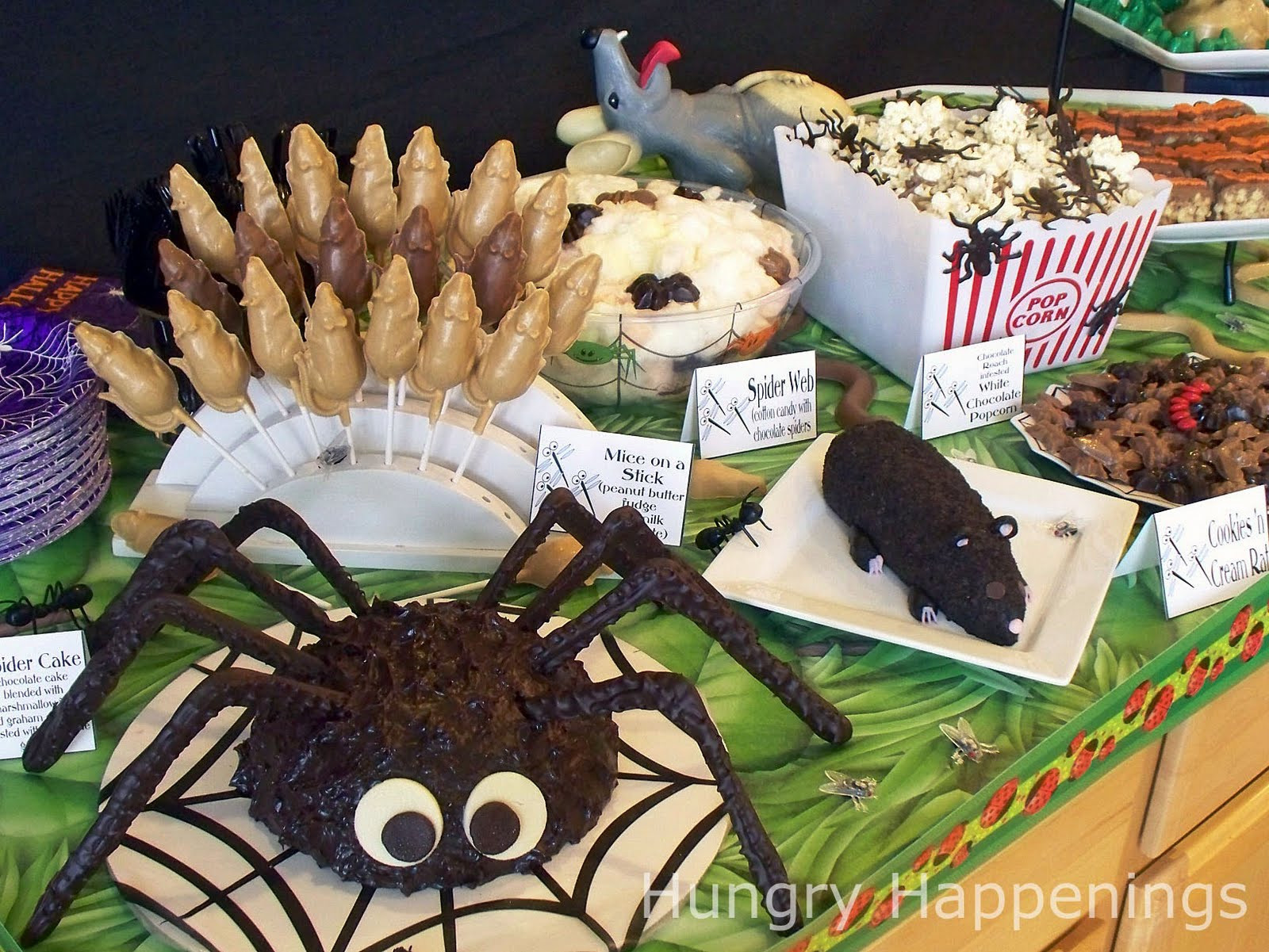 Halloween Party Menu Ideas  Carnival of the Creepy Crawlers Halloween Party Theme