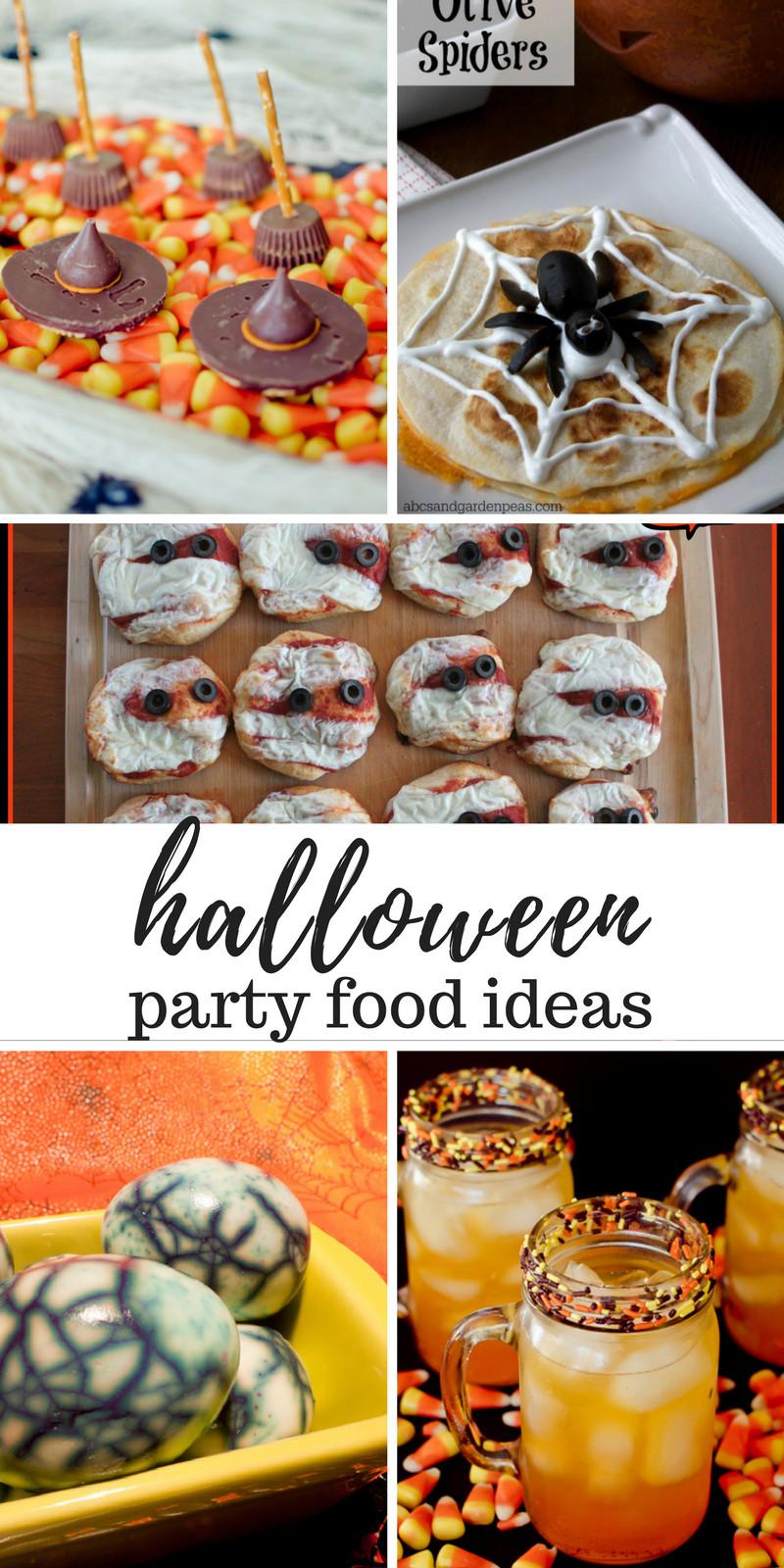 Halloween Party Menu Ideas  Halloween Party Food Ideas