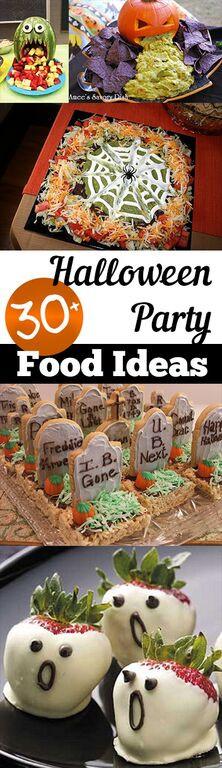 Halloween Party Menu Ideas  30 Halloween Party Food Ideas – My List of Lists
