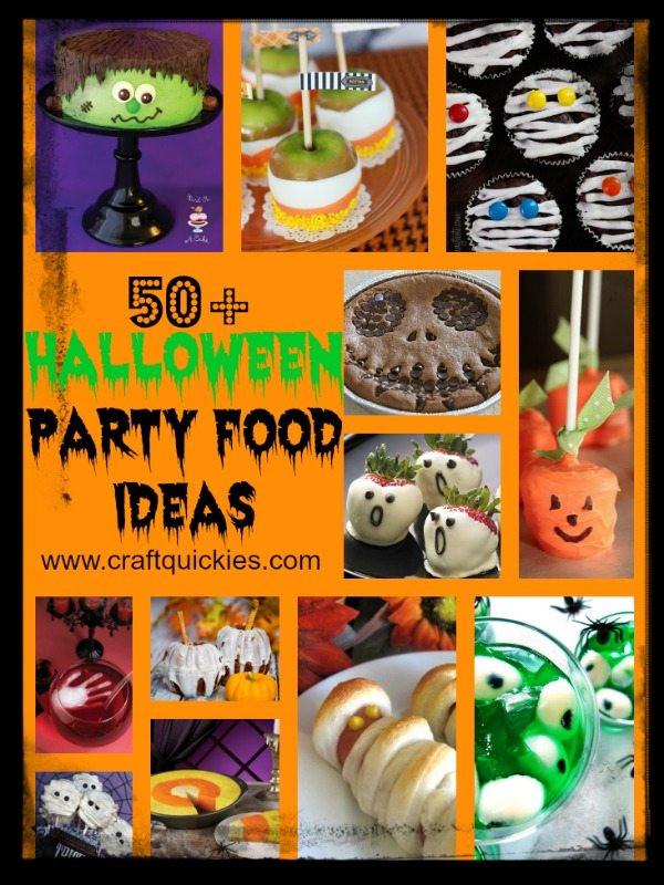 Halloween Party Menu Ideas  Halloween Party Food Ideas 50 Spooktacular Recipes