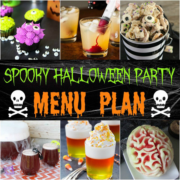 Halloween Party Menu Ideas  Halloween Party Menu Ideas & Recipes Home Cooking Memories