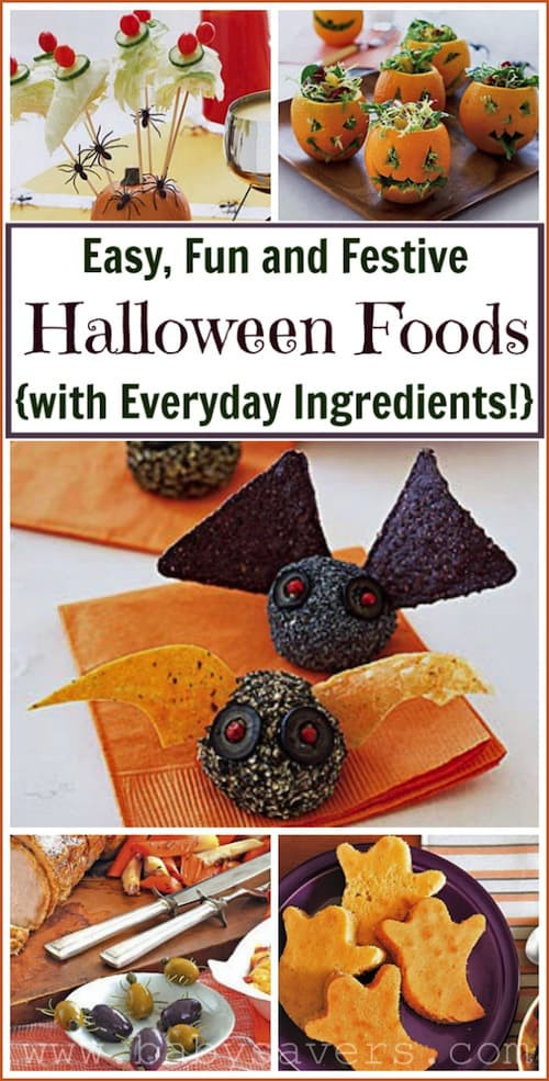 Halloween Party Recipes Ideas  Halloween Party Food Ideas Easy Halloween Recipes