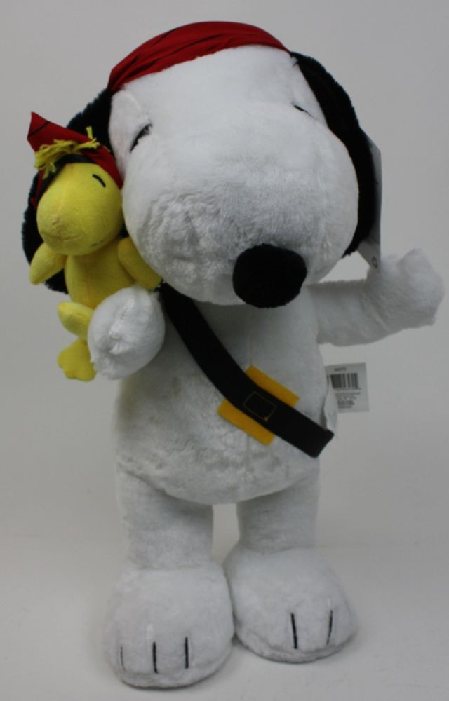 Halloween Porch Greeters  Halloween Peanuts 19 in Tall Snoopy & Woodstock Dressed as