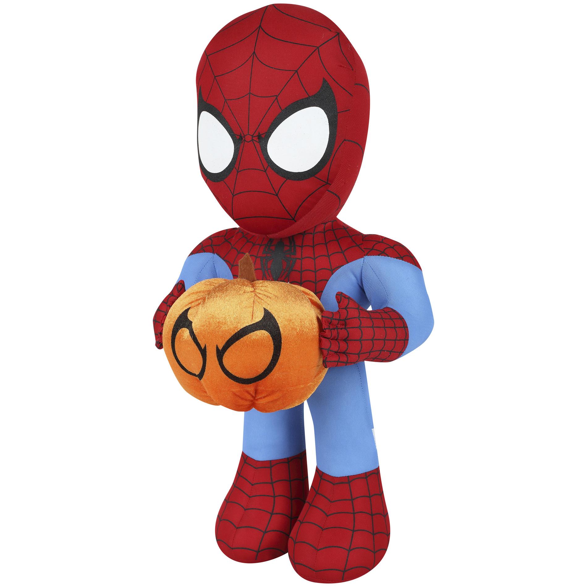 Halloween Porch Greeters  Marvel Halloween Spiderman Porch Greeters 21in Seasonal