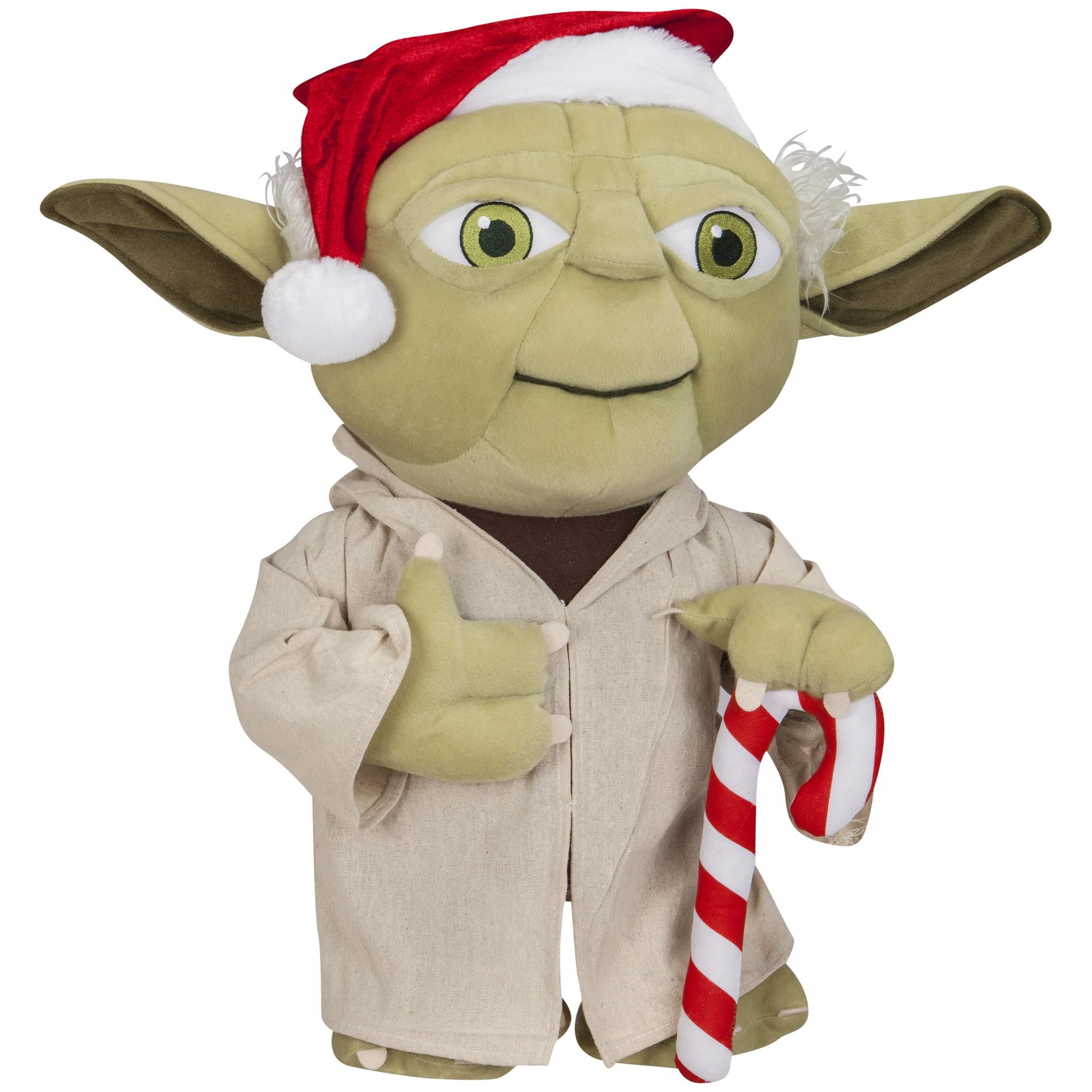 Halloween Porch Greeters  Disney Christmas Yoda Porch Greeter Seasonal Christmas