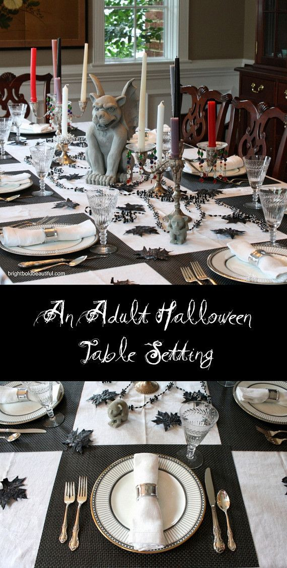 Halloween Table Settings  25 best ideas about Halloween Table Settings on Pinterest
