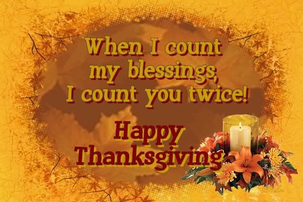 Happy Thanksgiving Blessings Quotes  Ashes Clay The Man November 2009