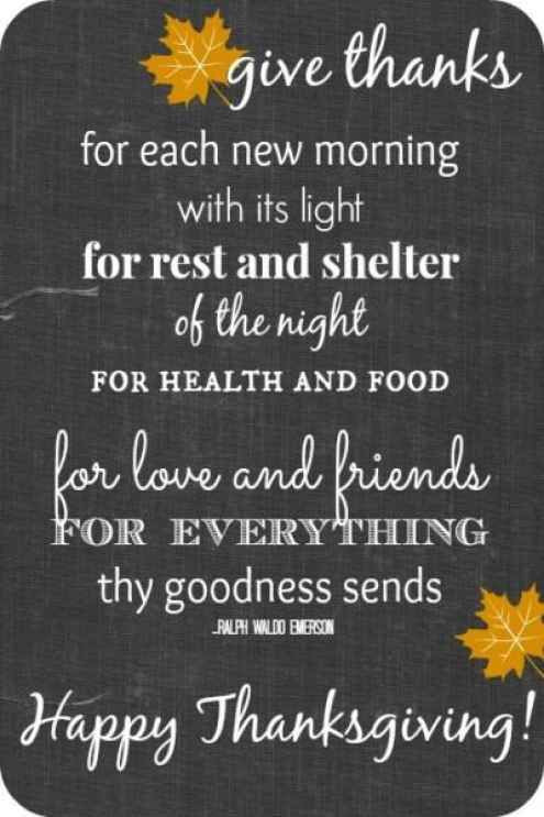 Happy Thanksgiving Blessings Quotes  27 Inspirational Thanksgiving Quotes with Happy