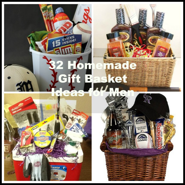 Homemade Christmas Gift Basket Ideas  32 Homemade Gift Basket Ideas for Men