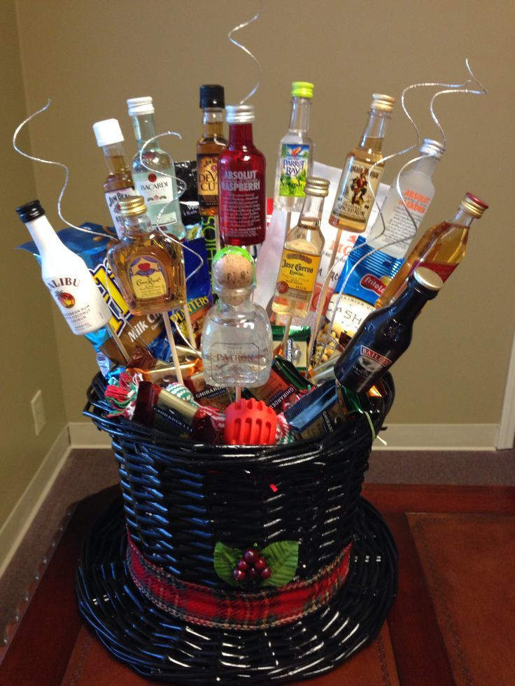 Homemade Christmas Gift Basket Ideas  Gift Basket Ideas For Men Pinterest Men s t basket