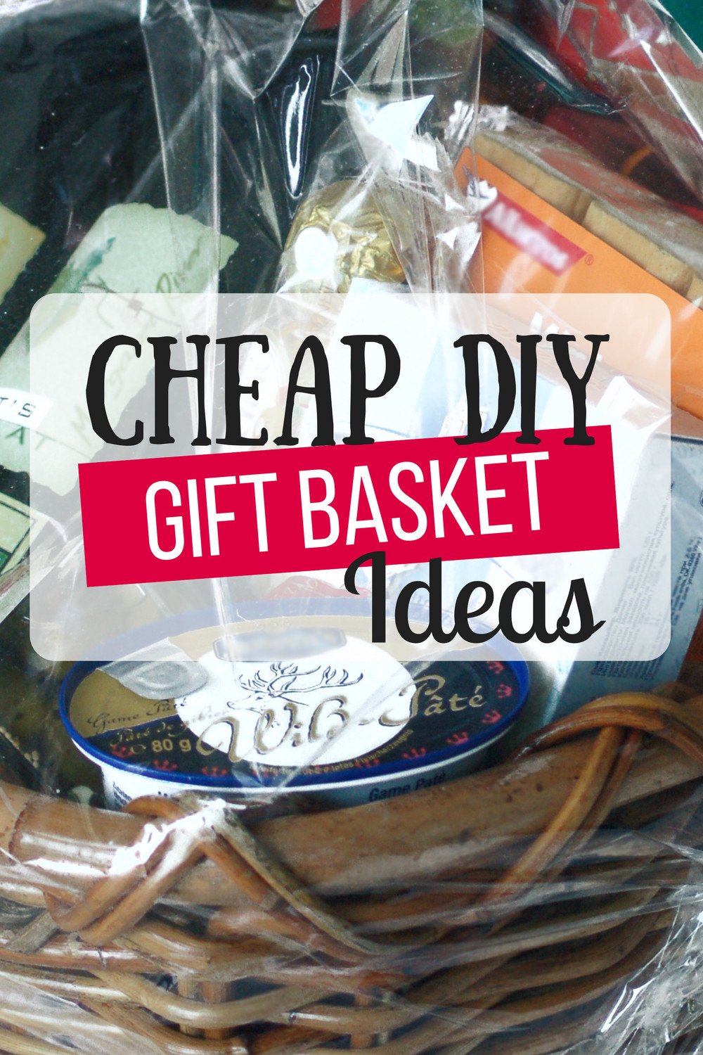 Homemade Christmas Gift Basket Ideas  Cheap DIY Gift Baskets The Busy Bud er