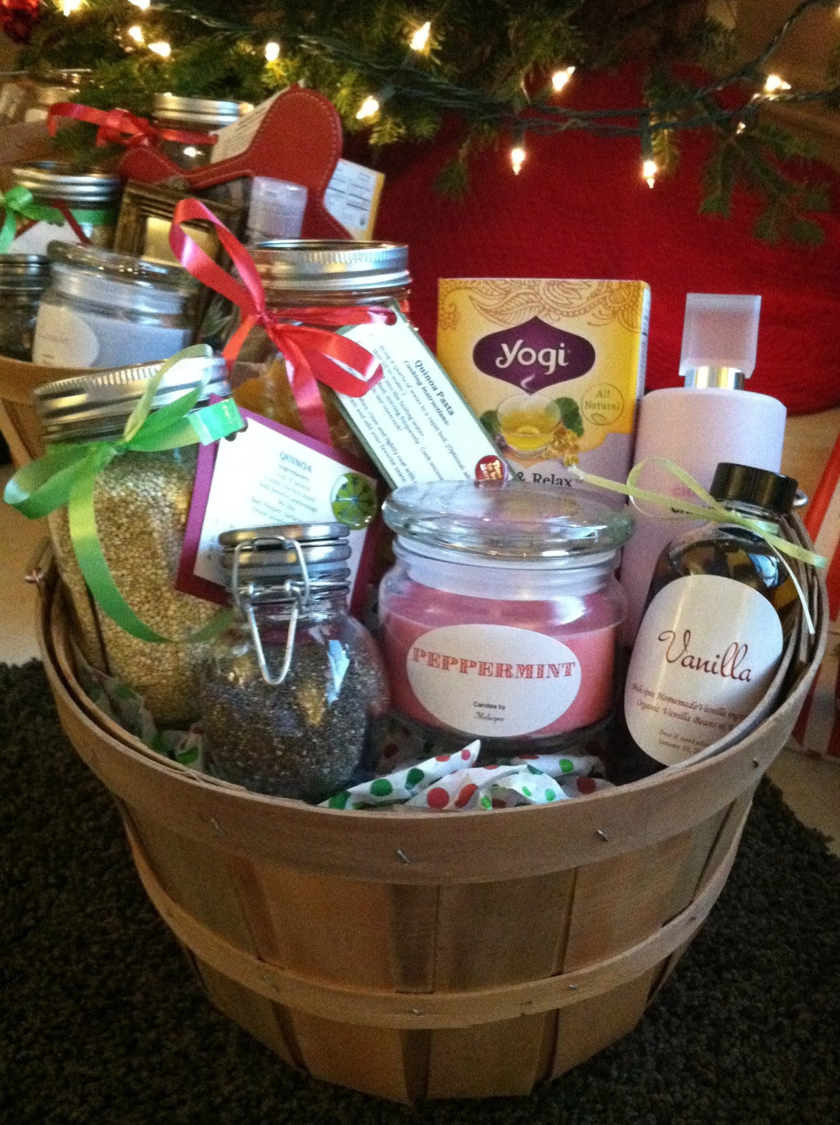 Homemade Christmas Gift Basket Ideas  melicipes Healthy & Homemade Gift Baskets