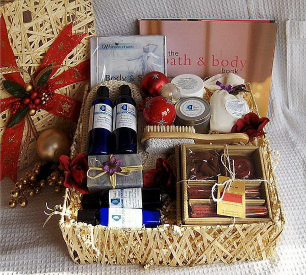 Homemade Christmas Gift Basket Ideas  35 Creative DIY Gift Basket Ideas for This Holiday Hative