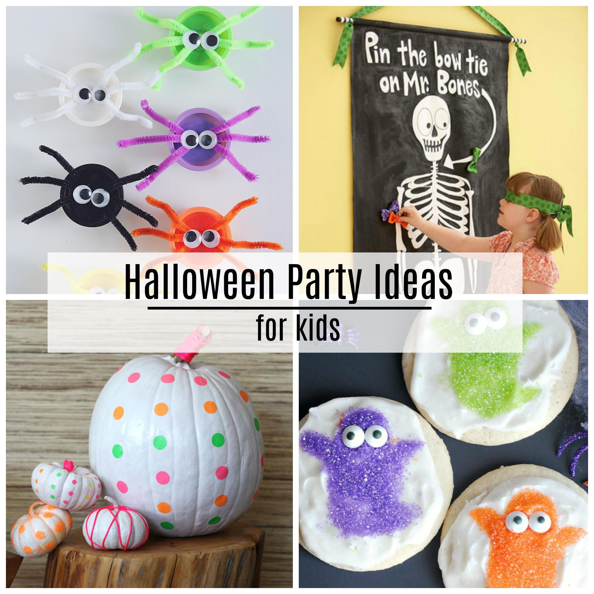 Ideas For Kids  Halloween Party Ideas The Idea Room