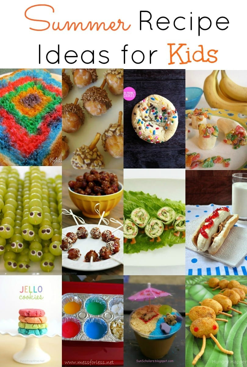 Ideas For Kids  Summer Recipe Ideas for Kids the Grant life