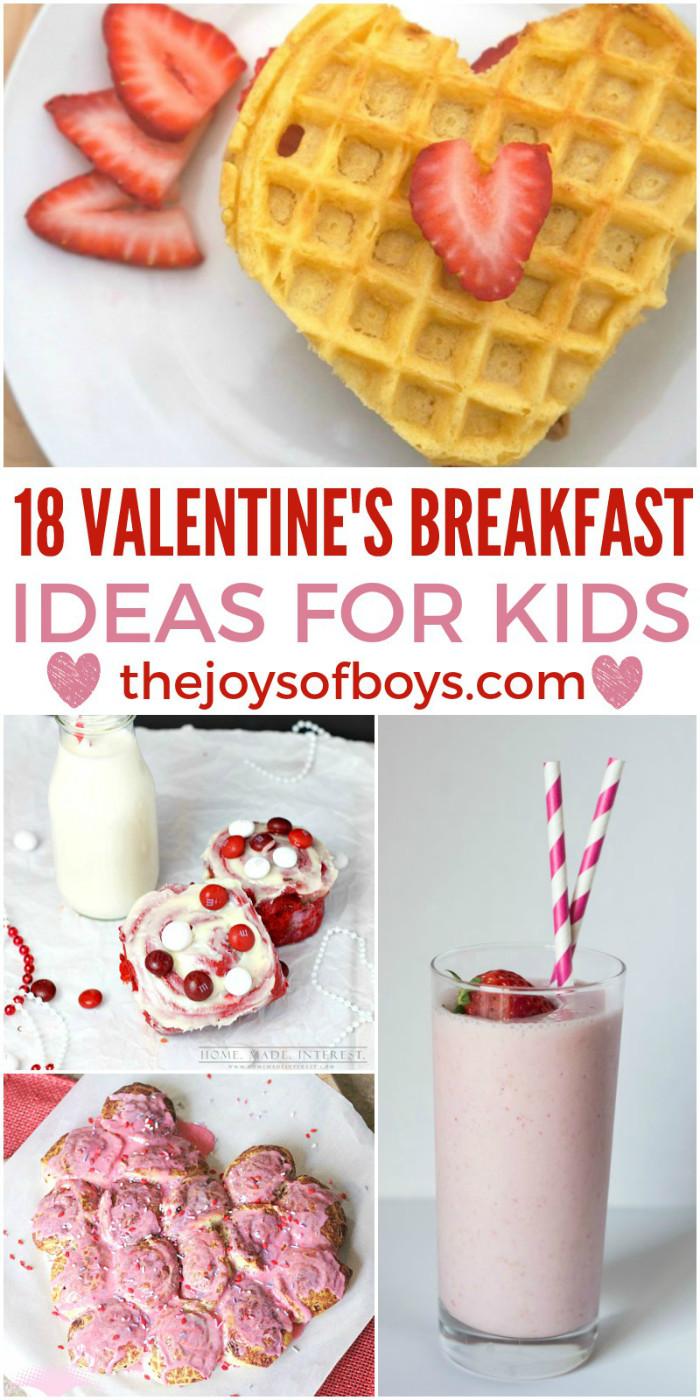 Ideas For Kids  18 Valentine s Day Breakfast Ideas for Kids The Joys of Boys