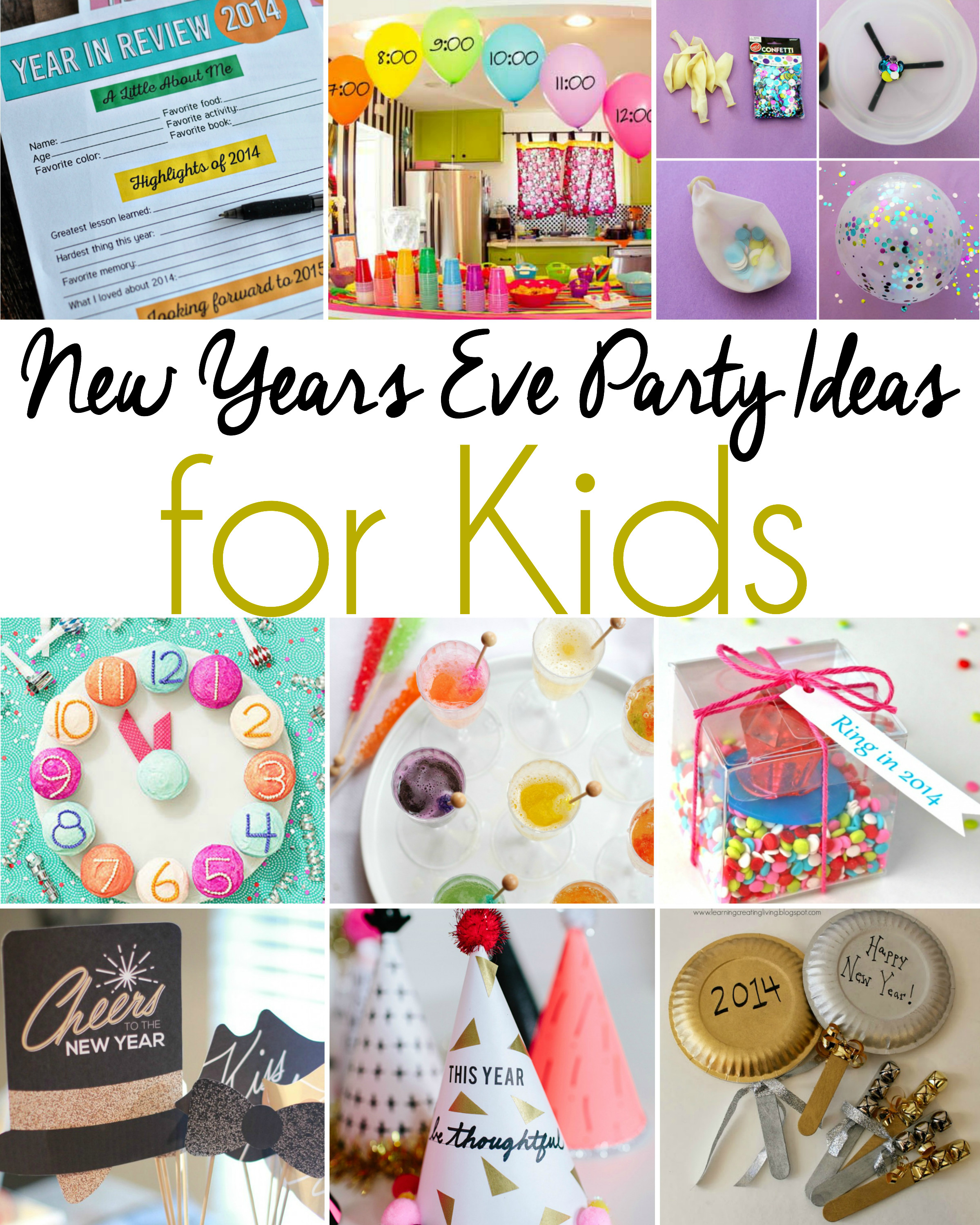 Ideas For Kids  New Years Eve Party Ideas for Kids