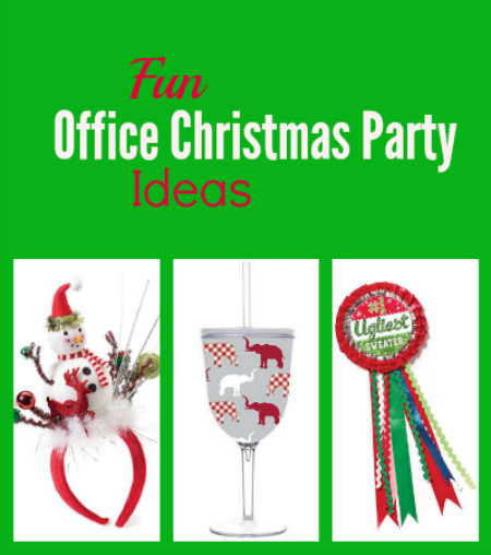 Ideas For Office Christmas Party  Fun fice Christmas Party Ideas Thrifty Jinxy