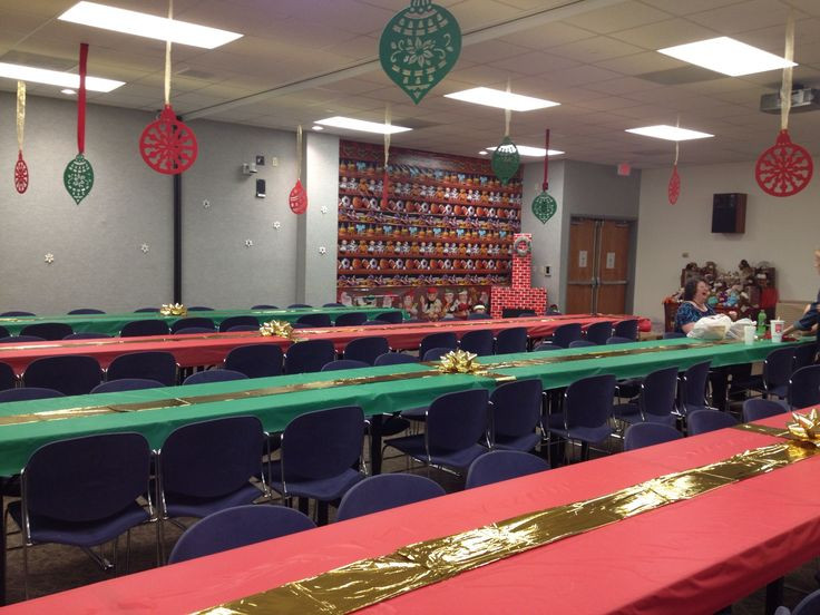 Ideas For Office Christmas Party  fice Christmas party decorations Holidays