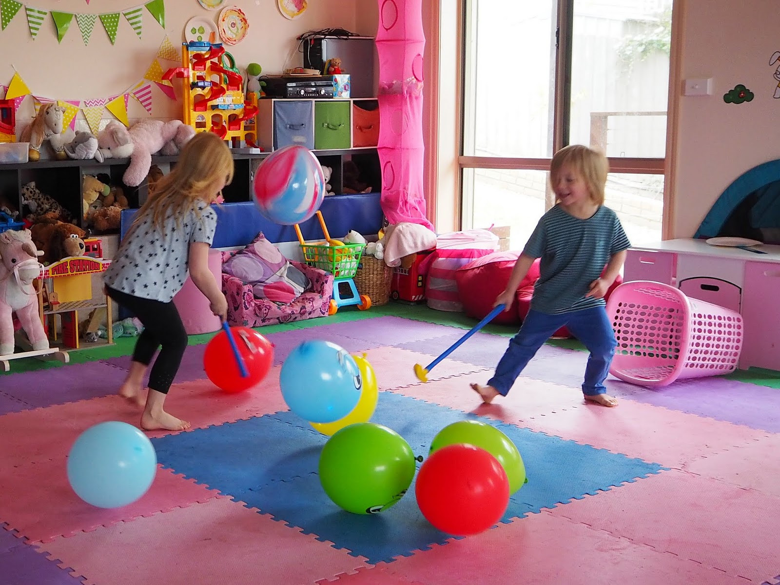 Indoor Christmas Activities  Learn with Play at Home 5 fun indoor balloon party games