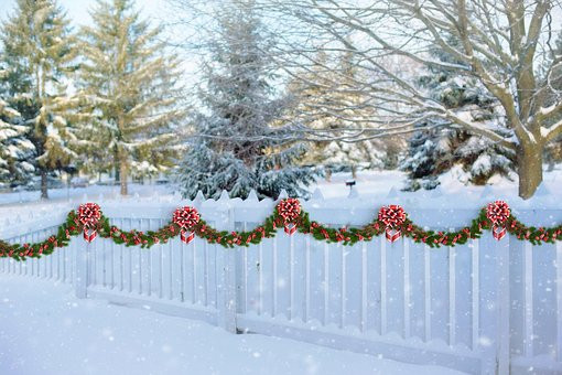 Indoor Christmas Tree Fence  Garland Free pictures on Pixabay