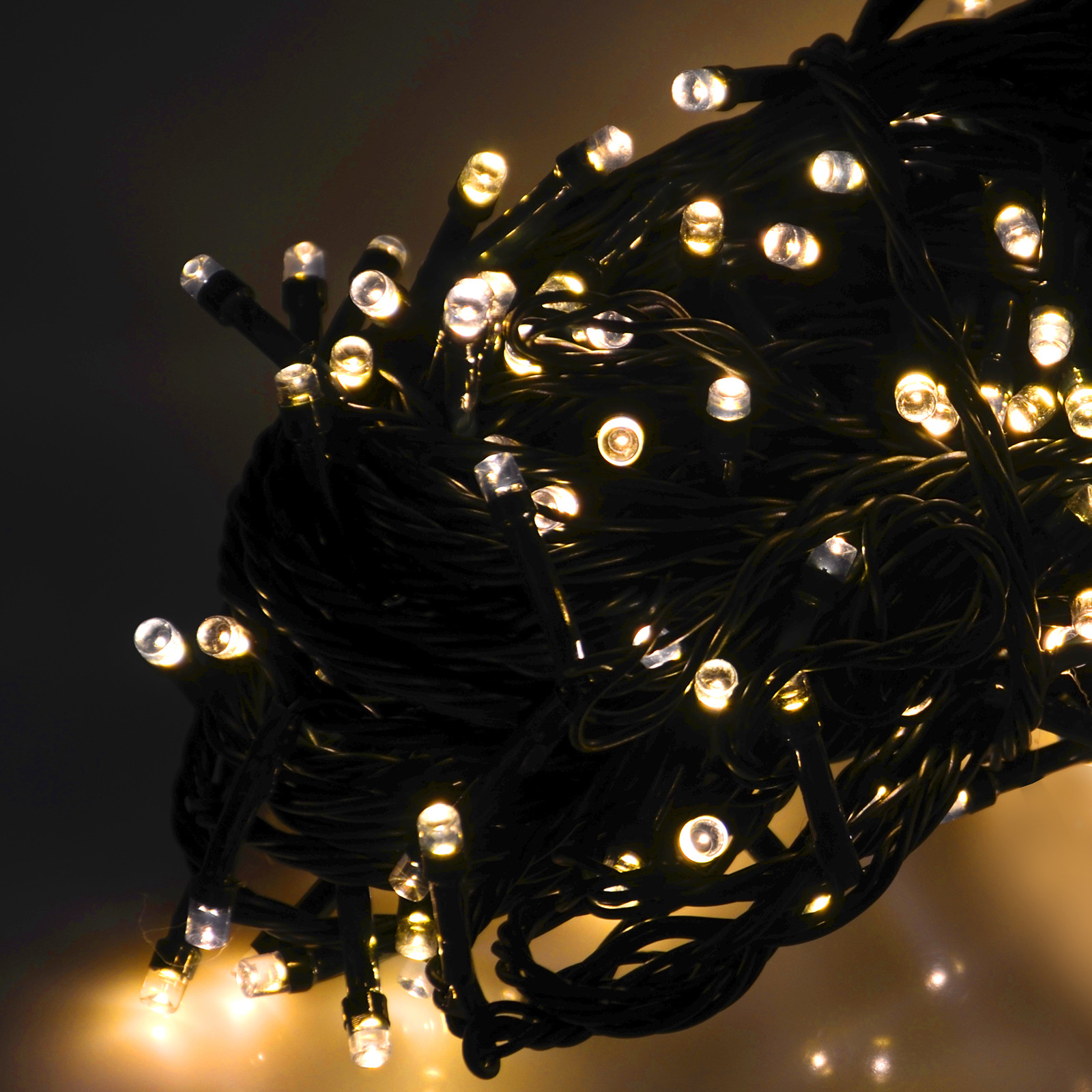 Indoor Outdoor Christmas Light  Battery Operated Chasing LED Lights String With Timer