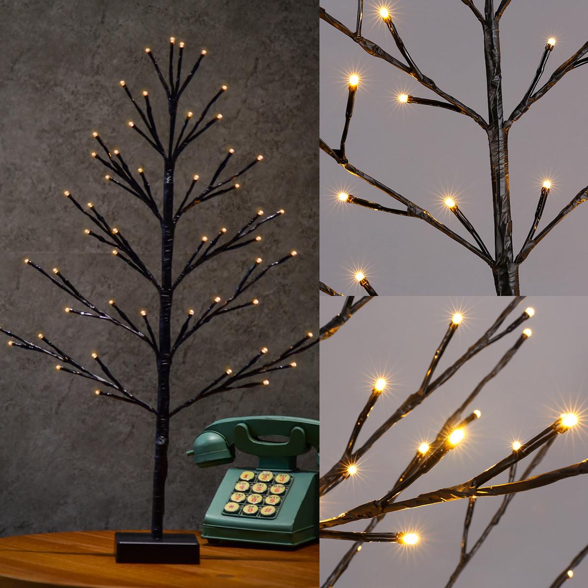Indoor Outdoor Christmas Light  60cm Bonsai Plane Tree Light Branch LED Christmas Lights